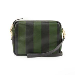 NWT Clare V. Midi Sac striped crossbody bag